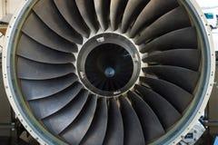 Dettaglio del bombardiere 5000 globali dell'aerotaxi del motore a propulsione - BMW Rolls Royce BR-710 Fotografia Stock Libera da Diritti