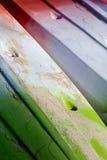 Dettaglio del bordo di spuma del primo piano Fotografia Stock Libera da Diritti