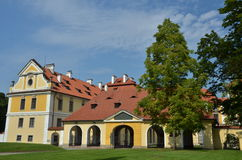 Dettaglio del castello di Zbraslav Fotografia Stock Libera da Diritti