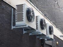 Dettaglio del dispositivo di HVAC fotografia stock