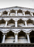 Dettaglio del duomo (cattedrale) di Pisa Fotografie Stock