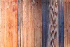 Dettaglio del fondo di legno di struttura della parete della plancia Fotografia Stock Libera da Diritti