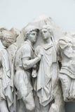 Dettaglio del fregio dell'altare nel museo di Pergamon, B di Pergamon Fotografia Stock Libera da Diritti