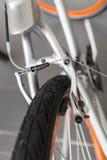 Dettaglio del freno della bicicletta Immagine Stock