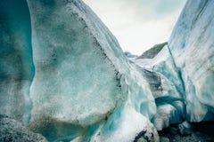 Dettaglio del ghiacciaio Fotografie Stock Libere da Diritti
