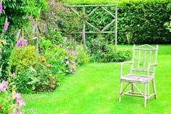 Dettaglio del giardino del cottage Immagini Stock