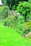 Dettaglio del giardino del cottage Immagine Stock
