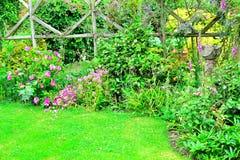 Dettaglio del giardino del cottage Fotografia Stock Libera da Diritti