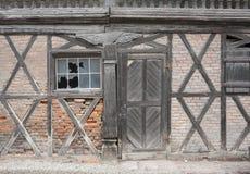 Dettaglio del granaio di Rundon Fotografie Stock