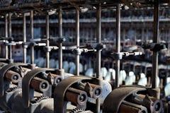 Dettaglio del macchinario fotografia stock libera da diritti