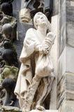 Dettaglio del Marktkirche, Hannover, Germania, Europa immagini stock