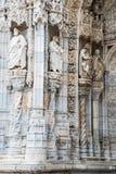 Dettaglio del monastero di Hieronymites (DOS Jeronimos di Mosteiro) Fotografia Stock Libera da Diritti