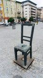 Dettaglio del monumento alle vittime il ghetto immagine stock libera da diritti