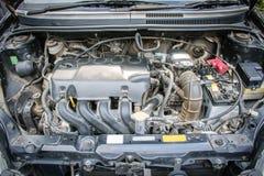 Dettaglio del motore di automobile di uso Fotografia Stock Libera da Diritti