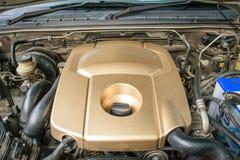 Dettaglio del motore di automobile di uso Fotografia Stock