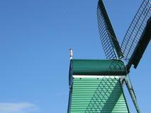 Dettaglio del mulino a vento Fotografie Stock Libere da Diritti