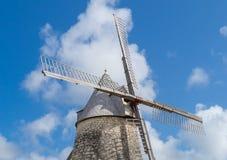 Dettaglio del mulino a vento in Marie Galante, Guadalupa Immagine Stock Libera da Diritti