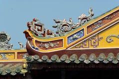 Dettaglio del palazzo dell'imperatore nella tonalità Fotografia Stock