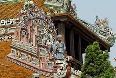 Dettaglio del palazzo dell'imperatore nella tonalità Immagine Stock Libera da Diritti