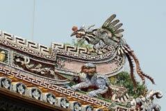 Dettaglio del palazzo dell'imperatore nella tonalità Immagine Stock