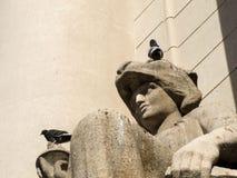 Dettaglio del palazzo di Piratini fotografia stock