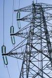Dettaglio del palo di elettricità Immagine Stock Libera da Diritti