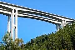 Dettaglio del ponte stradale da muggito Fotografie Stock