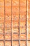 Dettaglio del portello scorrevole di legno della casa del Giappone Immagini Stock Libere da Diritti
