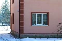 Dettaglio del primo piano di nuova casa moderna Fotografia Stock