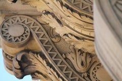 Dettaglio del rotolo architettonico classico Immagini Stock