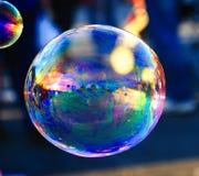 dettaglio del sapone della bolla Immagini Stock Libere da Diritti