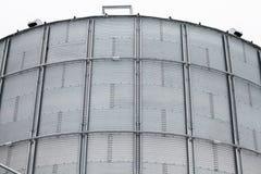Dettaglio del silo di grano di stoccaggio Fotografie Stock Libere da Diritti