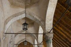 Dettaglio del soffitto della moschea di Karadjoz-bey a Mostar Immagini Stock Libere da Diritti