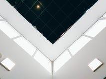 Dettaglio del soffitto nel centro commerciale Fotografia Stock