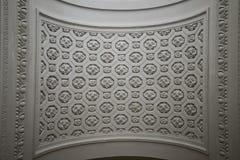 Dettaglio del soffitto in st Nicholas Church Fotografia Stock