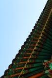 Dettaglio del tempio a Changwon, Corea del Sud Immagini Stock