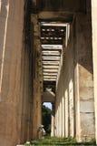 Dettaglio del tempio del ¼ ŒAthens di Hephaestusï Immagine Stock Libera da Diritti