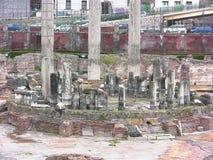 Dettaglio del tempio di Serapis Immagini Stock Libere da Diritti