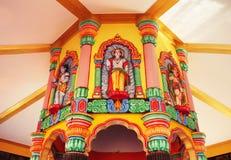 Dettaglio del tempio indù in India Fotografie Stock
