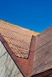 Dettaglio del tetto Fotografia Stock Libera da Diritti