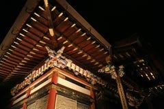 Dettaglio del tetto giapponese molto complesso del tempio Fotografia Stock Libera da Diritti