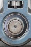 Dettaglio del torchio tipografico Fotografie Stock