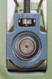 Dettaglio del torchio tipografico Fotografia Stock Libera da Diritti