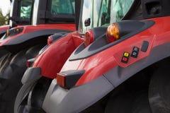 Dettaglio del trattore rosso Immagine Stock Libera da Diritti
