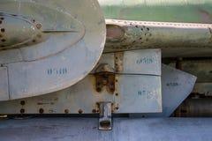 Dettaglio dell'aereo da caccia Fotografia Stock Libera da Diritti