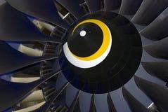 Dettaglio dell'aeroplano indicato al salone aerospaziale internazionale di MAKS fotografia stock