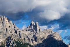 Dettaglio dell'alta montagna Immagini Stock