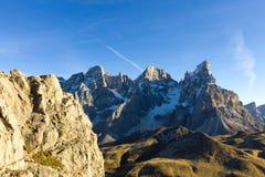 Dettaglio dell'alta montagna Immagini Stock Libere da Diritti