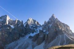 Dettaglio dell'alta montagna Immagine Stock