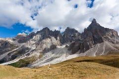 Dettaglio dell'alta montagna Fotografie Stock Libere da Diritti